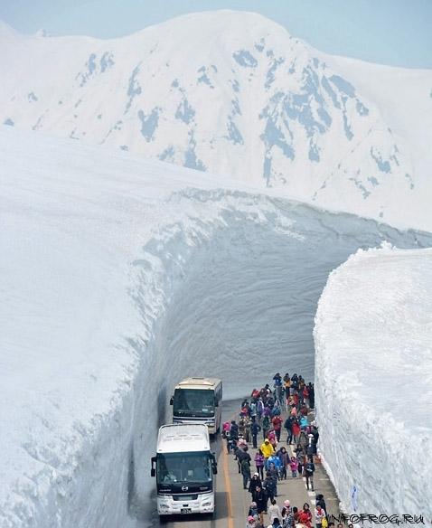 Tateyama Kurobe Alpine Route Opens