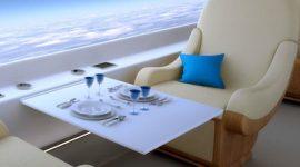 В первом реактивном пассажирском самолете иллюминаторы заменят дисплеями
