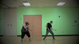 Энергичный танец 160-килограммовой Уитни Тор