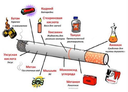 Доклад о вреде алкоголя и никотина