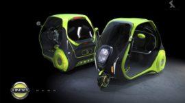 Титановый электромобиль-тривиллер с бортовым компьютером как средство против автомобильных пробок