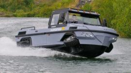Скоростной автомобиль-амфибия для военных, спасателей и любителей экстрима