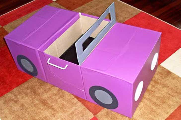 Сделать игрушечную машинку своими руками