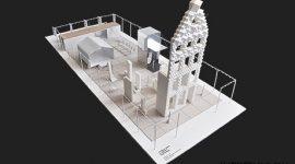 Китайский 3D-принтер печатает 10 готовых домов в сутки